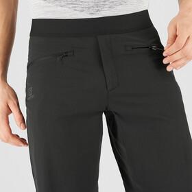 Salomon Wayfarer Pantalones Cortos Pull On Hombre, black